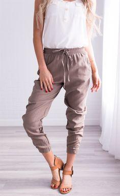 Monterey Linen Pant | Jane