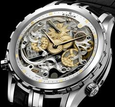 edox watch | Admire Edox Cape Horn 5 Minute Repeater Limited Edition Watch Watches ...