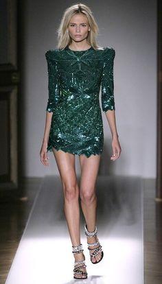 Paris Fashion Week - Balmain Spring/Summer 2009 Fashion Show