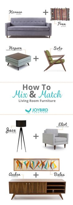 Looking to mix up the furniture in your home? Look no further than Joybird's selection of Mid-Century Modern pieces for every room in your home. From lamps to sleeper sofas, mixing up living furniture will take your entertaining space to the next level. Add unexpected touches to your home with Joybird's stylish selection of pieces that add instant style. Each piece is one-of-a-kind and handcrafted to ensure the highest quality. Mix and match your home with Joybird today.