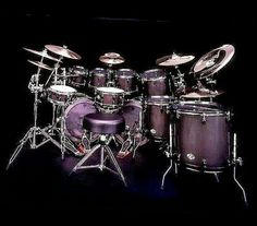 This is magnificent and you have to agree that even if it is not your favourite design, it is still cool Girl Drummer, Experimental Rock, Vintage Drums, Rock Groups, Snare Drum, Music Wallpaper, Drum Kits, Dove Cameron, Music Stuff