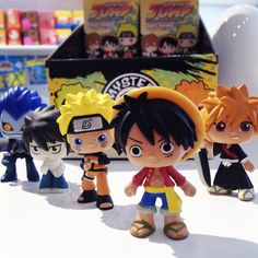 Love anime? Well then this is the perfect blind box series for you ! Shonen Jump Best of Anime series 2 Mystery Minis includes characters from Naruto Death Note Dragonball Z One Piece and Bleach! They are available now in-store and online at Mindzai.com #anime #shonenjump #manga #onepiece #luffy #naruto #dbz #deathnote #bleach #dragonballz #art #toy #arttoy #vinyltoys #collectibles #funko #mysteryminis #kawaii #mindzai #markham #toronto