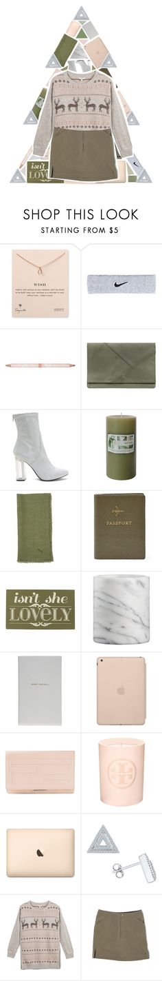 """""""MERRY CHRISTMAS!"""" by xgracieeee ❤ liked on Polyvore featuring Dogeared, NIKE, Paul & Joe, Auteurs Du Monde, Sir/Madam, FOSSIL, Alpine, Home Decorators Collection, Crate and Barrel and Smythson"""