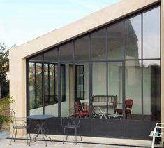 Extension Veranda, Facade, Extensions, New Homes, Construction, Exterior, House Design, Outdoor Decor, Juliette