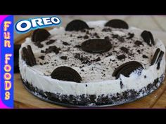 How to make a giant oreo cake youtube dessert ideas how to make a homemade oreo ice cream cake funfoodsyt desserts youtube ccuart Gallery
