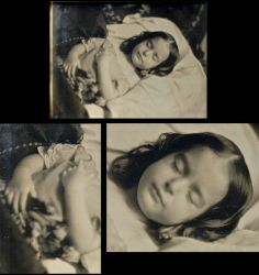 Lovely girl postmortem, with flowers in hand, dressed in white, signifying her passing. Old Pictures, Old Photos, Vintage Photos, Memento Mori Photography, Post Mortem Pictures, Post Mortem Photography, Victorian Photos, Momento Mori, Mourning Jewelry