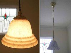 5042 ガラス ランプシェード 照明 イギリス 英国 アンティーク Antique lamp shade ¥2980yen 〆04月12日