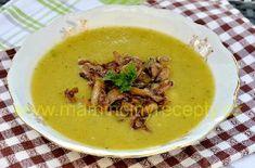 Zeleninová s hlívou Meat, Chicken, Food, Essen, Meals, Yemek, Eten, Cubs