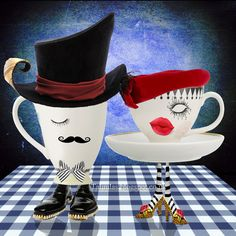 Taluula's Morning Coffe, Footwear, Art Daily, Stylish, Tableware, Contemporary Art, Dinnerware, Shoe, Dishes