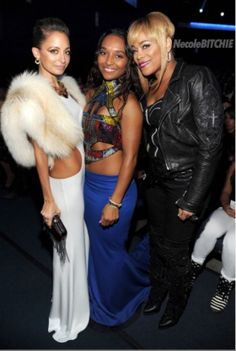 Nicole Richie Chilli and T-Boz