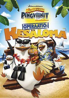 Madagascarin pingviinit: Operaatio kesäloma pojat tykkää-näistä!