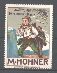 Harmonica stamp