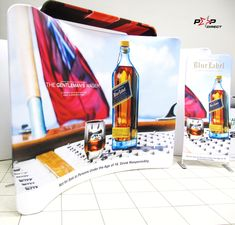 #bluelabel Wall Banner, Exhibition Display, Banner Printing, Banners, Africa, Pop, Prints, Expo Stand, Popular