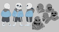 Just Sansational — rosuroid:   I really wanna animate Sans but I had...