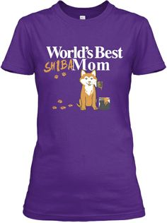 Celebrate Shiba Moms on Mothers Day!   Teespring