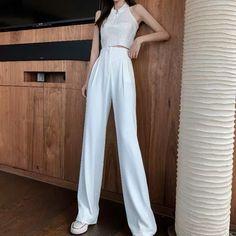 New Fashion, Korean Fashion, Girl Fashion, Fashion Dresses, Airport Fashion, Airport Style, Korean Style, Korean Girl, Minimal Chic