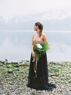 Misty Morning Elopement / Eidfjord Workshop by Norwegian Wedding Magazine. Flowers, Dress, Styling & Concept by Norwegian Wedding Magazine. Muah: Hawwa make up // Photo by Nina & Wes Photography:  http://www.norwegianweddingblog.com/2016/08/misty-morning-elopement-eidfjord-workshop-by-nina-wes.html