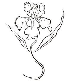 On my bucket list: Iris tattoo - faith, love, loyalty.