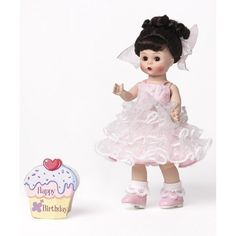 Alexander Doll Happy Birthday Brunette Doll