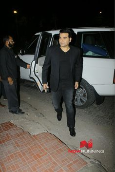 Arbaaz Khan  snapped together on Malaika's mother's birthday celebrations