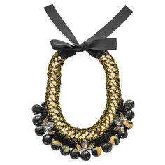 Carijo Necklace   Handmade Jewelry   FLAT 128 Handmade Necklaces, Handmade Jewelry, Ricardo Rodriguez, Crochet Necklace, Products, Fashion, Moda, Crochet Collar, La Mode