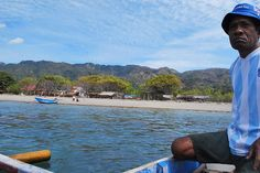 Looking back at Atauro Island, 25 kilometres off the coast of Dili, Timor Leste. Photo: Lucy Rickard.