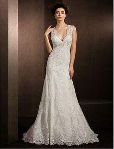 BOHO WEDDING DRESS - BOHEMIAN WEDDING DRESS - LACE WEDDING DRESS - BOHO PROM DRESS