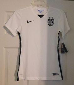 83debddbb3fc2 NEW Nike Team USA National Team World Cup Stadium Soccer Jersey WOMENS XS  683817 #Nike
