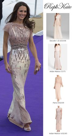 SHOP repliKates of the Jenny Packham gown