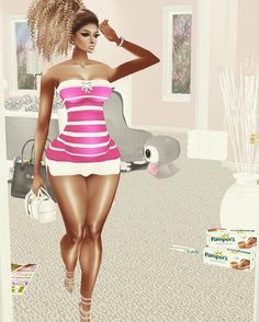 An awesome Virtual Reality pic! So i attempted to get the baby's nursery together tonight..ha! I can do no more! I'm out this biih. Girrrrl stop kickin' me! It will get done just not today. LOL... let's go eat.  #imvuprego #imvufashion #imvufamily #decoratingainteasy #imvuhome  #obblife #virtualreality by vixtee_virtualboo check us out: http://bit.ly/1KyLetq