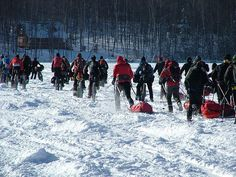 The Iditarod Trail Invitational is the world's longest winter ultra-marathon by mountain bike, foot and skis and follows the famous Iditarod Trail from Knik to Nome. The short race, 350 miles, finishes in the interior village of McGrath on the Kuskokwim River, and the 1,000 mile race finishes in Nome. To read more about this event & how to get involved, click on this link: https://www.keepfitjunkie.com/events/the-iditarod-invitational