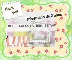 RBE Reflexologia bem estar: Reflexões de início de Ano! 2 anos de Blog tem sorteio pra você no blog