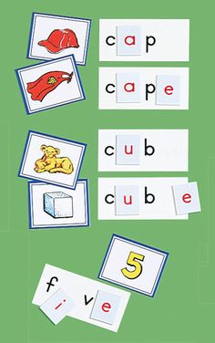 RF Vowel Powers: Silent E Pattern/centers Kids Reading, Teaching Reading, Silent E, Phonemic Awareness, Reading Strategies, Early Learning, Teaching English, First Grade, Phonics