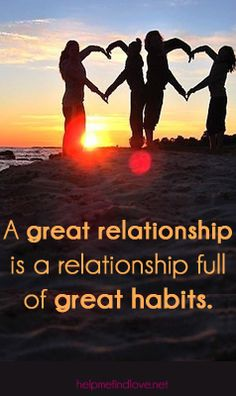 great dating tips and relationship advice for creating great habits in relationships especially solid advice for couples looking to better communication, forgiveness, etc.
