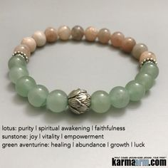 """Sunstone helps empower those who feel persecuted or abandoned by others, instilling confidence and optimism and encouraging motivation and positive action. Sunstone is also useful in removing energy draining ties or """"hooks"""" into your energy by other people. #Love #Beaded #Bracelet #Yoga #Chakra #Mala #Stretch #Meditation #handmade #Jewelry #Energy #Healing #Crystals #Stacks #pulseiras #Bijoux #Handmade #Reiki #Mala #Buddhist #Charm #Mens #Womens…."""