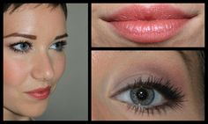"""Pure Anada """"Pretty in Plum"""" ` Eyes: ECRU(Matte Pressed), DOVE (Matte Pressed eye shadow), PLUM (matte loose eye shadow), DEEP PLUM (luminous loose eye shadow) applied damp with an angle brush as a liquid liner NATURAL BLACK MASCARA Cheeks: SWEET PEA pressed blush color Lips: Just a drop of STRAWBERRY CREAM lip gloss smudged into my lips with my pinky finger to create a lip stain"""