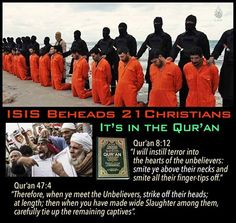 We all need to see this. God help us!  These are Christians being slaughtered and executed!  Our brothers in Christ. Jesus save us!