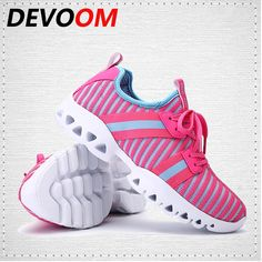 17.76$  Buy now - http://alixd4.shopchina.info/1/go.php?t=32807191530 - DEVOOM Fashion Lovers Casual Shoes Lace-up Couples Walking Shoes Breathable Mesh Lightweight Outdoor Flats Women/Hombre Sapatos 17.76$ #aliexpressideas