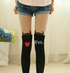 Assorted Harajuku kawaii stockings. Please choose the stocking number when ordering. Leave a note <3