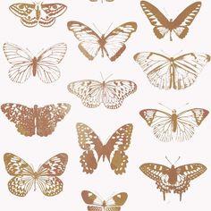 Behang Onszelf Smile - OZ 3264 vlinders