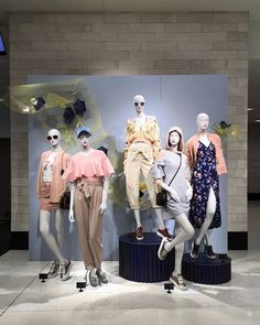 """NORDSTROM, Seattle, Washington, """"SPRING... Are you Ready?"""", pinned by Ton van der Veer"""