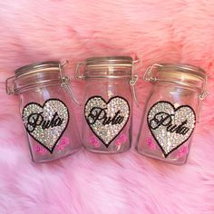 Swarovski Crystal embellished Air tight weed stash jars! Store your herbs with major cuteness and get it at www.shopstaywild.com