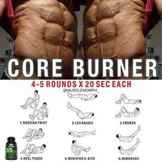FEEL THE BURN 🔥 with this core workout 👆🏻LIKE/SAVE IT if you found this useful and FOLLOW @musclemorph_ for more exercise & nutrition tips 💪🏻TAG A GYM BUDDY . ✳Enhance your progress with @musclemorph_ supplements by clicking the LINK IN BIO @musclemorph_ ➡MuscleMorphSupps.com #MuscleMorph