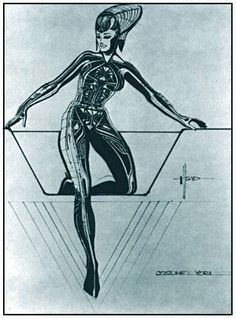 11 tron original character sketch design concept SydMead Tron YoriCostume 100