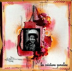Combo-couleurs Scrapbooking, Texture, Happy, Movie Posters, Art, Simple, Wish, Colors, Surface Finish