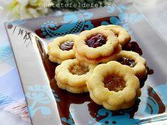 fursecuri cu gem Nutella, Waffles, Biscuits, Muffin, Food And Drink, Macarons, Cookies, Breakfast, Desserts