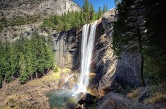 Vernal Falls   Yosimite