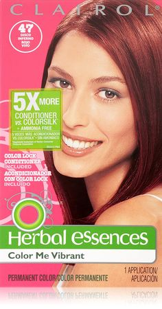 Herbal Essences Color Me Vibrant Permanent Hair Color 047 Disco Inferno 1 Kit >>> Read more  at the image link.