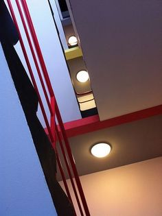 Staircase looking Up, Bauhaus, Dessau