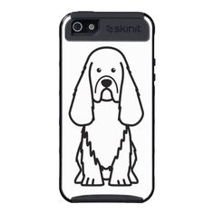 Sussex Spaniel Dog Cartoon Covers For iPhone 5